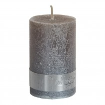Rustic Candle Metallic taupe, verschillende maten, PTMD-4880