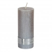 Rustic Candle Metallic taupe, verschillende maten, PTMD-4879