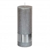 Rustic Candle Metallic taupe, verschillende maten, PTMD-0