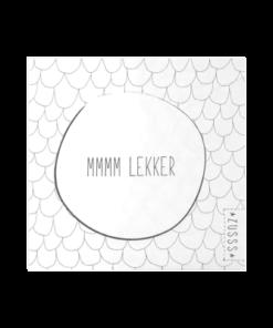 SERVET TEKST MMMM LEKKER-0