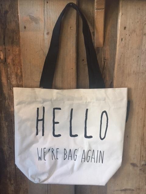 Fabric Hello Bag, Long Island Living-0