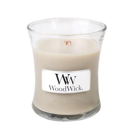WoodWick Mini Candle - Wood Smoke-0