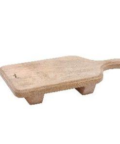 Snijplank Baker hout, rechthoek op voet S, PTMD-0