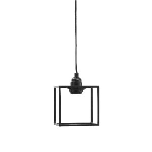 Alix Iron black hanging lamp square, PTMD-0
