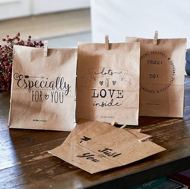 Just For You Paper Bags 6 pcs, Riviera Maison-0