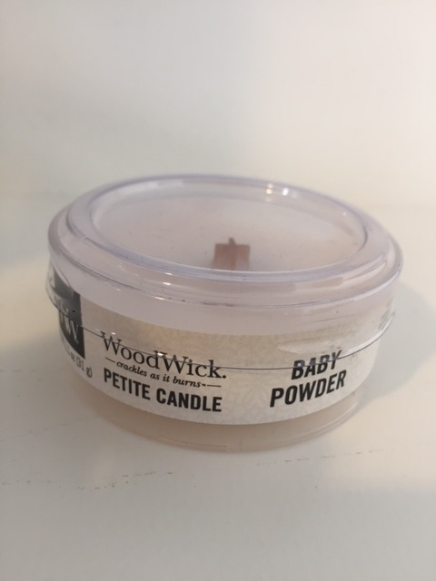 WoodWick - Petit Travel Candle - Baby Powder-0