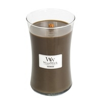WoodWick Large Candle - Oudwood-0
