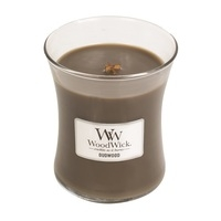 WoodWick Medium Candle - Oudwood-0
