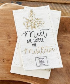 Paper Napkin Meet Me Under The Mistletoe, Rivièra Maison-0
