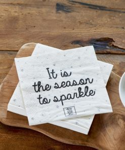 Paper Napkin It Is The Season To Sparkle, Rivièra Maison-0