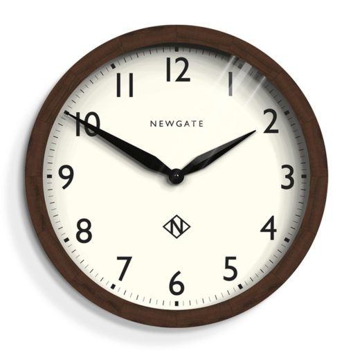 Newgate Clock - Wimbledon Solid wood White-0