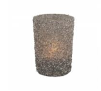 Glass Tlight Glitter SL -Long Island Living-0