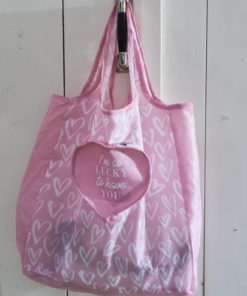 Heart Foldable Bag - Riviera Maison-0