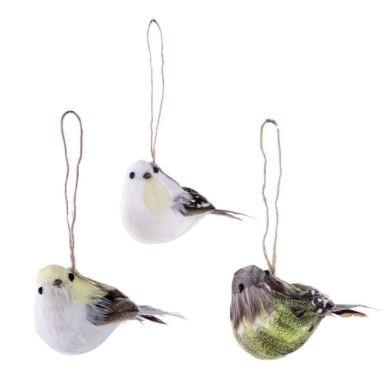 Feather Bird Hang in 3 varianten - Home Society-0
