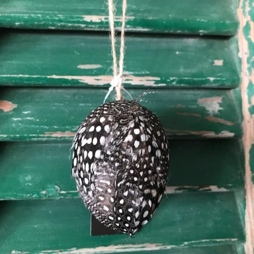 Feather Egg black chicken hanging egg - PTMD-0