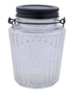 Glass Storage Jar S/L - Long Island Living-0