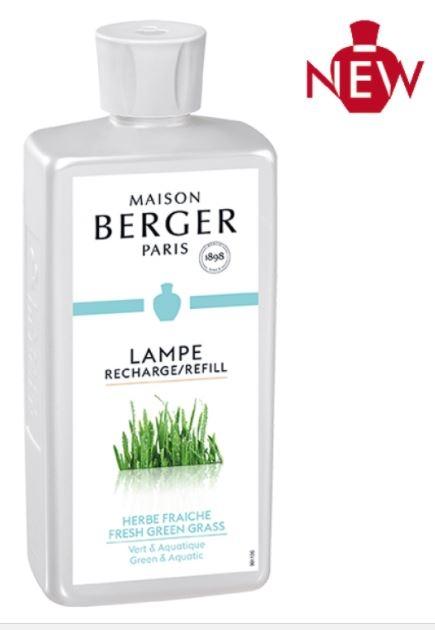 Fresh Green Grass - Herbe Fraiche - 500 ML - Lampe Berger-0