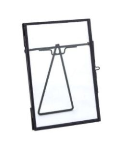Metal Glass Photoframe Evi, in diverse maten - Home Society-0