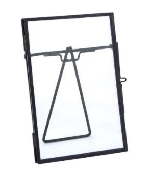 Metal Glass Photoframe Evi, in diverse maten - Home Society-6529