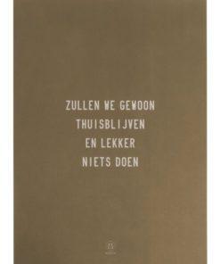 A3 Poster van Papier -Diverse Teksten/Afbeeldingen - Zusss-6441