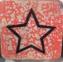 Houten Scrabble Letters en Symbolen 6x6 cm. - Cotton Counts-6589