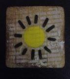 Houten Scrabble Letters en Symbolen 6x6 cm. - Cotton Counts-6584