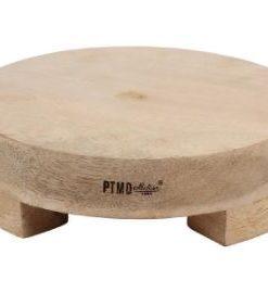 Snijplank Kjeld, rond mangohout S - PTMD-0