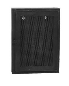 Wynn black Iron wall cabinet one door S - PTMD-0