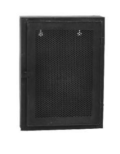 Wynn black Iron wall cabinet one door S - PTMD-0