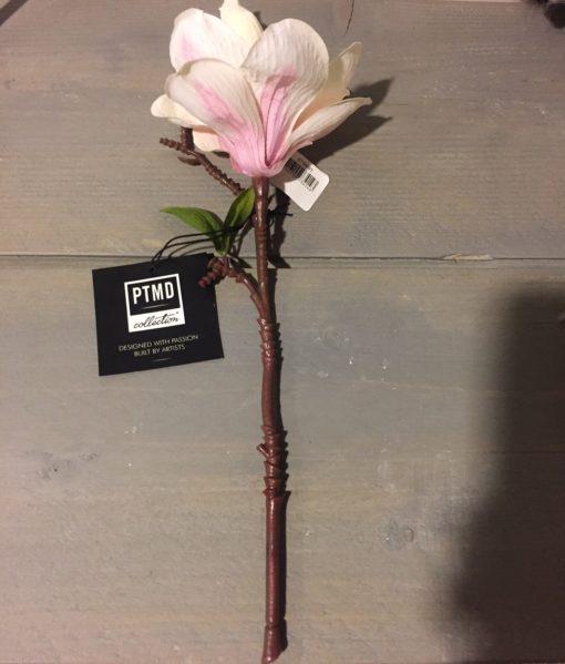 Magnolia bloem pink spray 1 bud - PTMD-6862