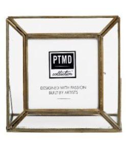 Kayan Iron brass photoframe portrait - PTMD-0