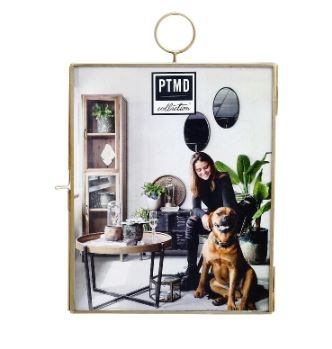 Yven Iron brass wall photoframe landscape L - PTMD-0