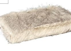 Noud cream long Faux fur blanket s - PTMD-0